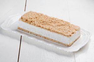 עוגת שמנת ופירורים ללא תוספת סוכר