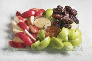"""מגש תפוחים בדבש 141 ש""""ח כולל מע""""מ"""