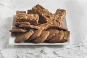 עוגיות קוואקר בניחוח מייפל וקינמון (פרווה, טבעוני)